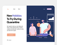 Interaction : : Courses Landing Page
