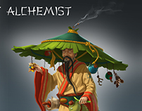 Taoist alchemist