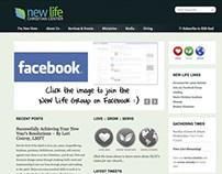 New Life Website
