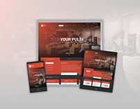 Web Design- Pulse Fitness http://pulsefitness.co/