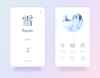 Snow Interface Concept