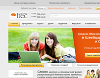 ITEC group website redesign - 2012