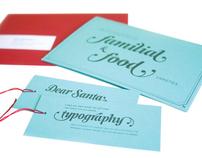 Julie Rado Design Christmas Card & Gift Tag Self-Promot