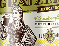 Choc Beer: Petite Reserve labels