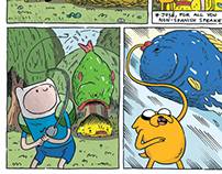 "Adventure Time ""Fishling"" - COLORIST"