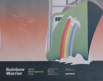 Greenpeace Rainbow Warrior tour 2013