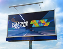 Free PSD Billboard mock-up