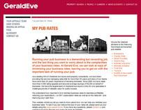 My Pub Rates microsite