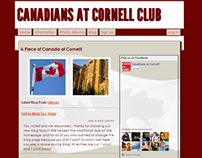 Canadians at Cornell Website