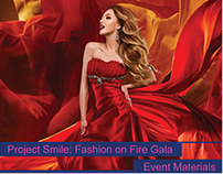 Project Smile: Fashion on Fire Gala | Event Materials