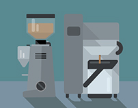 Barista Handbook Illustrations