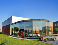 Porsche Garage, Bodegraven, the Netherlands