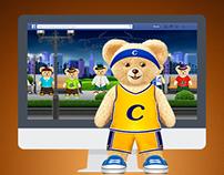 "Unilever's Coccolino ""Dress your Teddy Bear"" App"