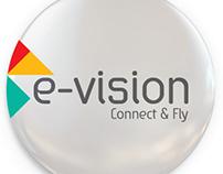 e-vision, corporate identity