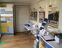 Cargostore Trade Stand at the Royal Norfolk Show