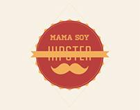 "Infografía ""Mamá soy hipster"""