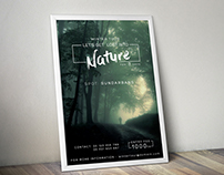 Nature A4 Poster/ Flyer