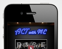 Act With Me iPhone App (Contest Item)