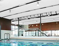 Wasserstraelen pool complex, Straelen, Germany
