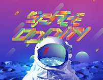 SPACE ODDITY | free font