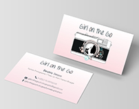 Logo Design & Business Cards // Girl on the Go