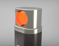 3D - Acendedor de Charuto CEDRUS
