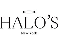 HALO'S New York Logo Design and Branding