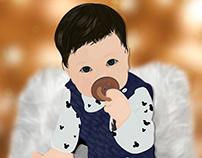 Comisión Baby personalizada