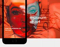 Museum Of Art : Application Design