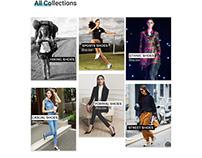 Shoe website women category