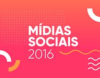 Mídias Sociais - 2016