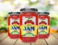 Jam Jar Label Project