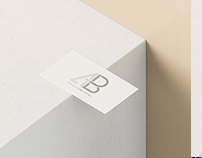 Business Card With Cutout Mockup