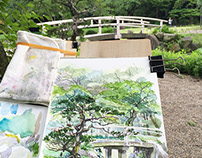 Garden Watercolours