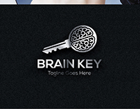 Logo Design: Brain Key