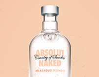#NadaQueEsconder / Absolut Vodka