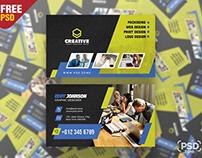 Modern and Creative Business Card PSD