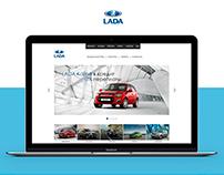 LADA Website Design