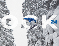 Shock#24. Surf, skate & snowboard magazine