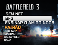 Battlefield 3 - Menu alternativo