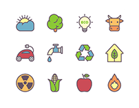 40+ Best Green Environment & Ecology Icons