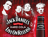 Jack Daniel's Hard Cola: Event Posters