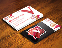 Business Cards for Cosmetic Manager