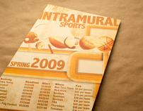 Intramural Sports Poster