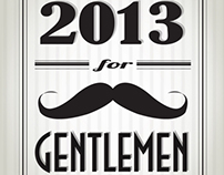 Retro Calendar for Gentlemen