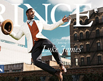 Luke James Covers Prince Magazine: MUSIC MEETS FASHION