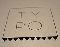 Typographic magazine: TYPO