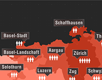 Infographics Design (Population in Switzerland)