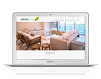 Web Brasil Prime - Diseño institucional
