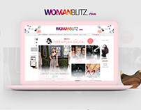 Woman Blitz Website Design